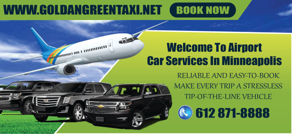 Airport car services in Minneapolis
