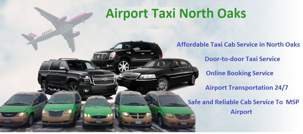 Airport Taxi North Oaks