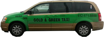 Contact us Gold and Green Taxi